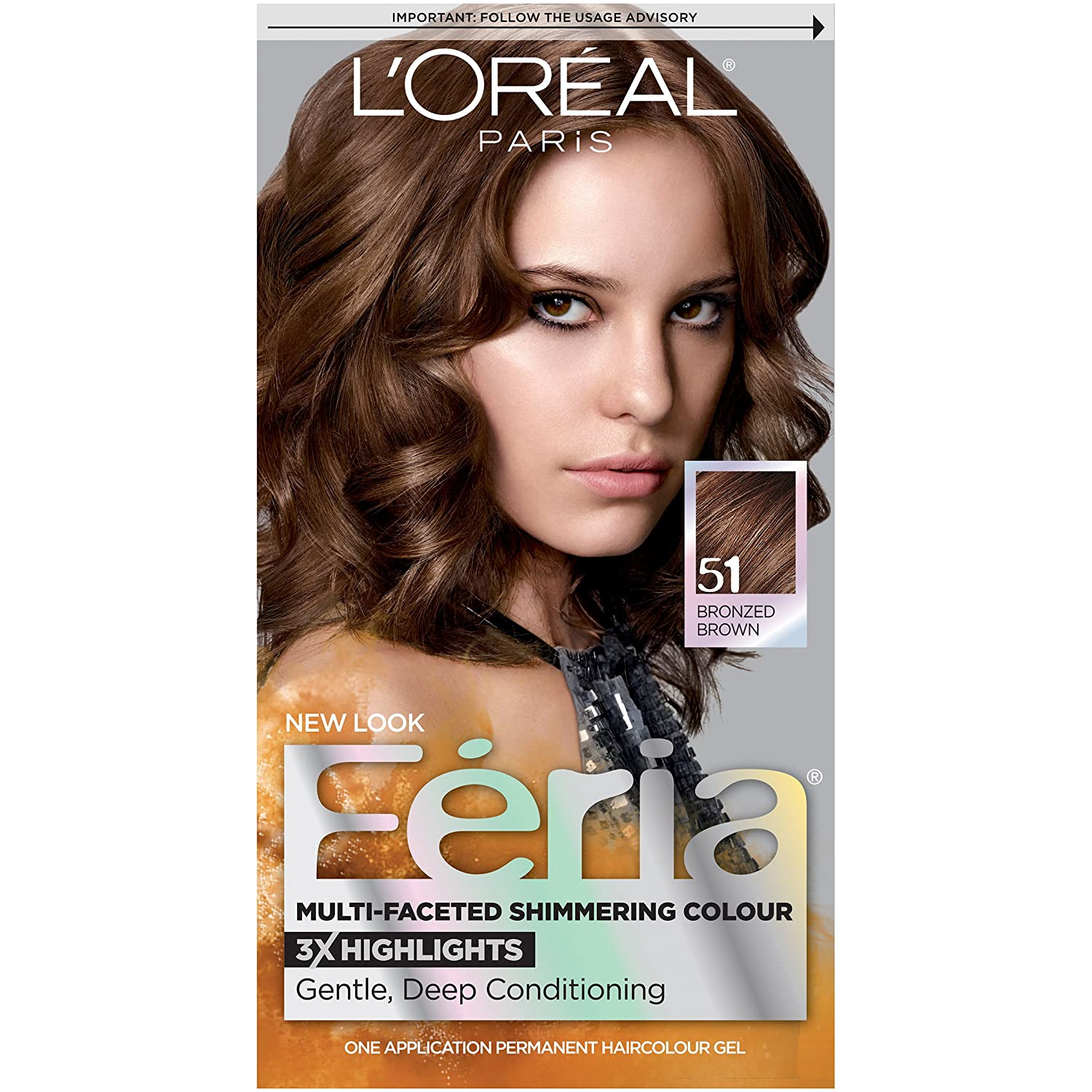 Buy Loreal Feria Haircolor Bronzed Brown 51 Online At Low Prices In