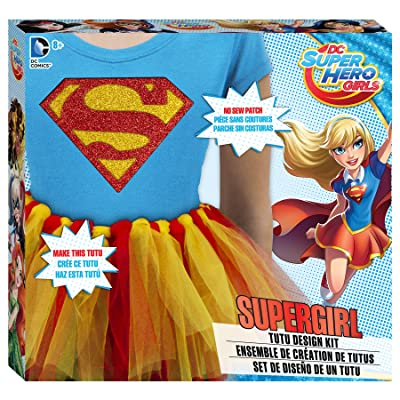 DC Superhero Girls Supergirl Tutu Design Kit: Toys & Games [5Bkhe0306856]