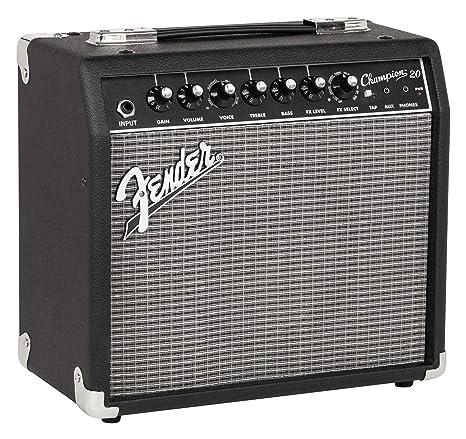 Fender Champion 20 · Amplificador guitarra eléctrica: Amazon.es: Instrumentos musicales