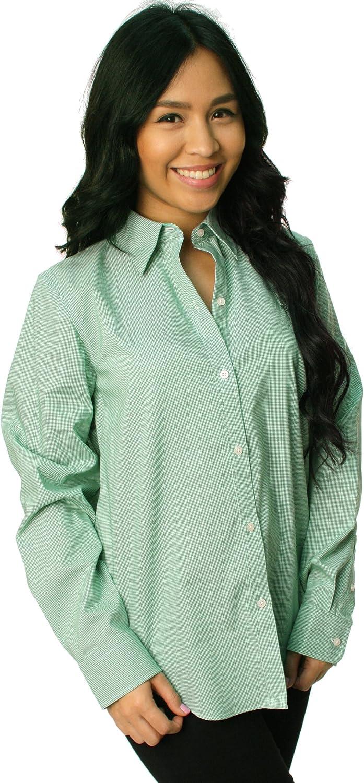 Ralph Lauren - Camiseta - Camisa - para Mujer Multicolor Verde/Blanco M: Amazon.es: Ropa y accesorios