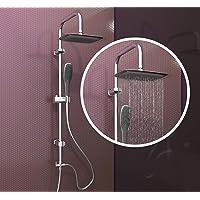 EISL Doucheset Easy Fresh, douchezuil 2-in-1 met grote regendouche (250 x 200 mm) en handdouche, ideaal voor montage…