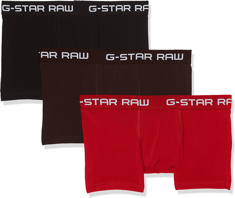 G-Star Raw Mens Classic Trunk Clr 3 Pack