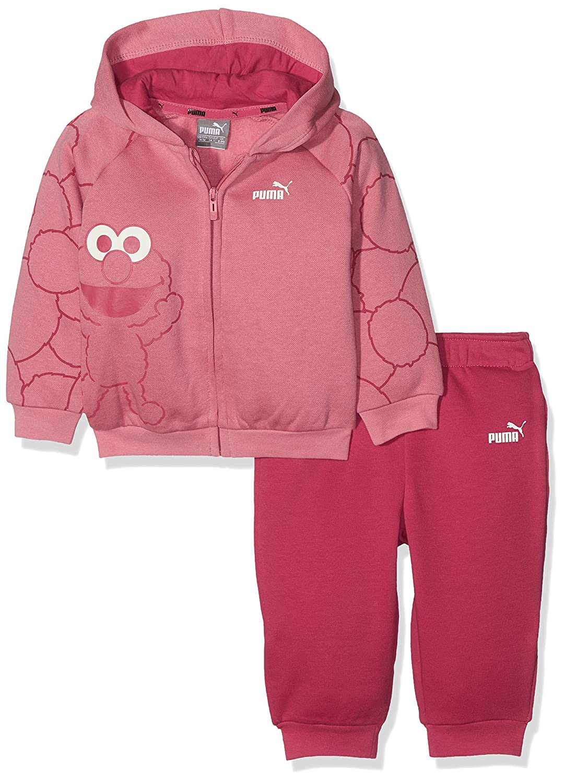 Puma Children's Sesame Street Hooded Jogger Suit 592555