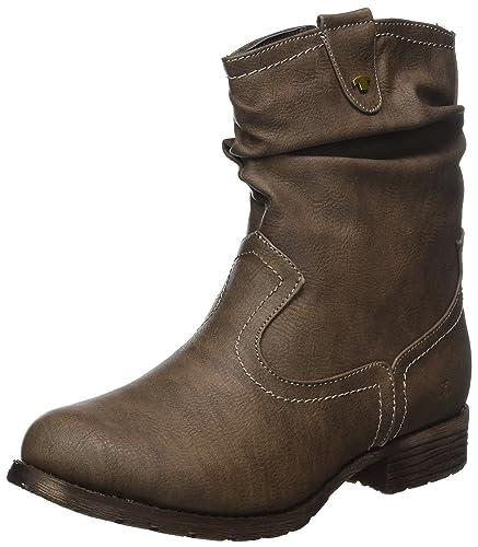 TOM TAILOR Damen 379990330 Stiefel, Braun (Taupe), 40 EU