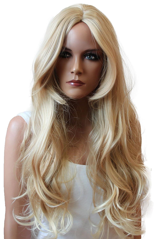 PRETTYSHOP Fashion Lady Natural Full WIG Curl Long Hair Heat-Resistant Black WLR10 WLR10_1B