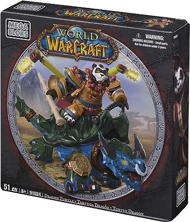 Amazon.com: Mega Bloks World of Warcraft tortuga dragón y ...