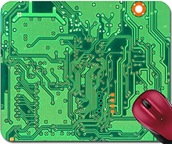 liili mousepad abstract background with old computer circuit board photo 20442346