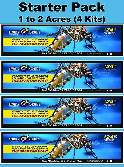 Amazon Com Spartan Mosquito Eradicator Control 2 Acre Starter Pack