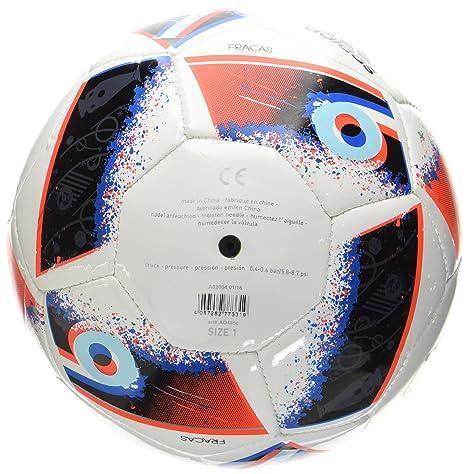 adidas Euro16 Mini Balón de fútbol, Hombre, (Blanco/Azubri/Rojsol ...