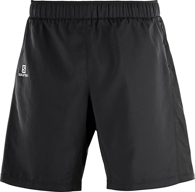 Salomon Men's Agile 2 in 1 Running Shorts, Taffeta