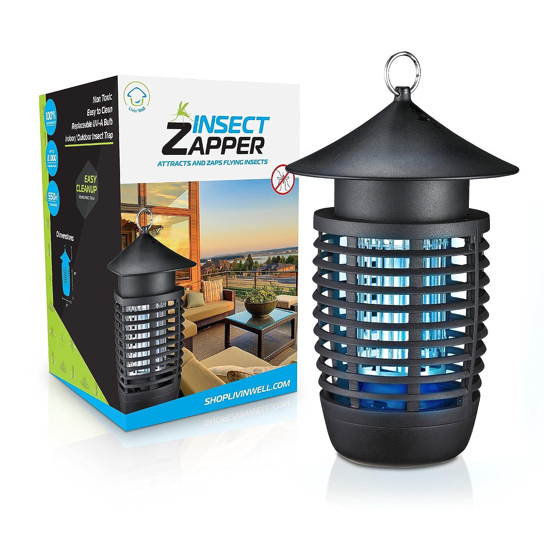 Livin' Well Electric Bug Zapper Mosquito Killer Trap
