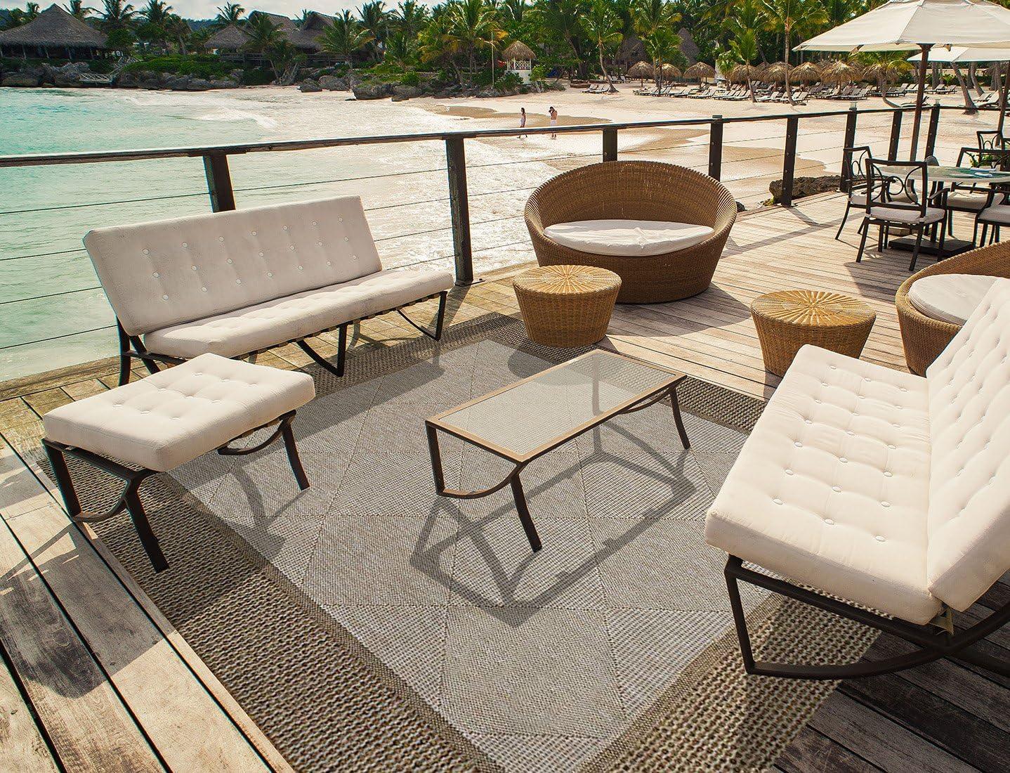 Amazon coupon code for Platinum Furman Modern Outdoor Patio Rug