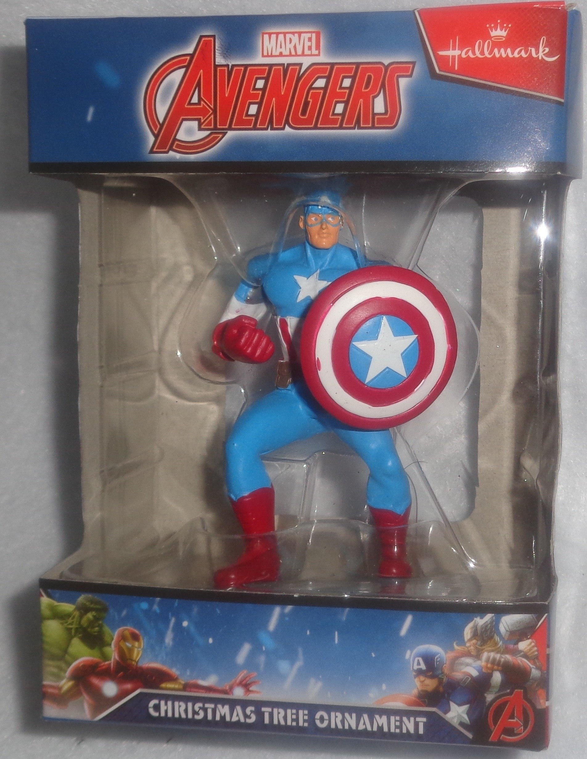 Hallmark Captain America Ornament by