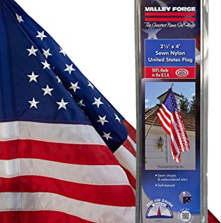 product image for Valley Forge 60650-T American Flag, 2.5'x4' Sleeved, Multi color