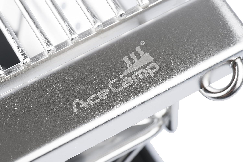 weitere Gr/ö/ßen AceCamp Grill I Camping I Holzkohle I Tragbarer Faltgrill aus Edelstahl