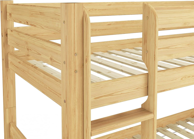 Erst-Holz Letto Castello 90x200 per Ragazzi in Pino Eco ...
