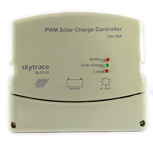 Solar Charge Controller PWM 10A 12V - DUSK TO DAWN