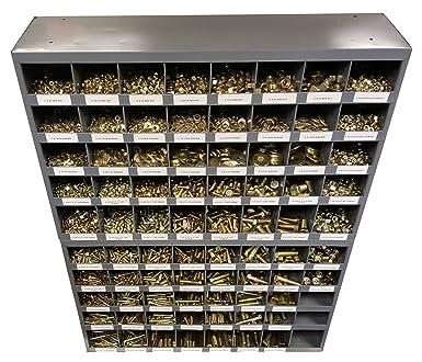 Surtido de tuercas hexagonales autoblocantes BGS 8135 146 piezas