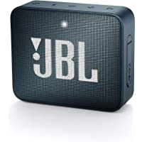 JBL GO 2 Speaker Bluetooth Portatile Cassa Altoparlante Bluetooth Waterproof IPX7 con Microfono, Funzione di Noise Cancelling, fino a 5 h di Autonomia, Blu Scuro Navy