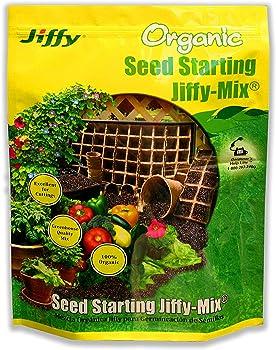 Jiffy 0.33 cu ft Starter Organic Soil