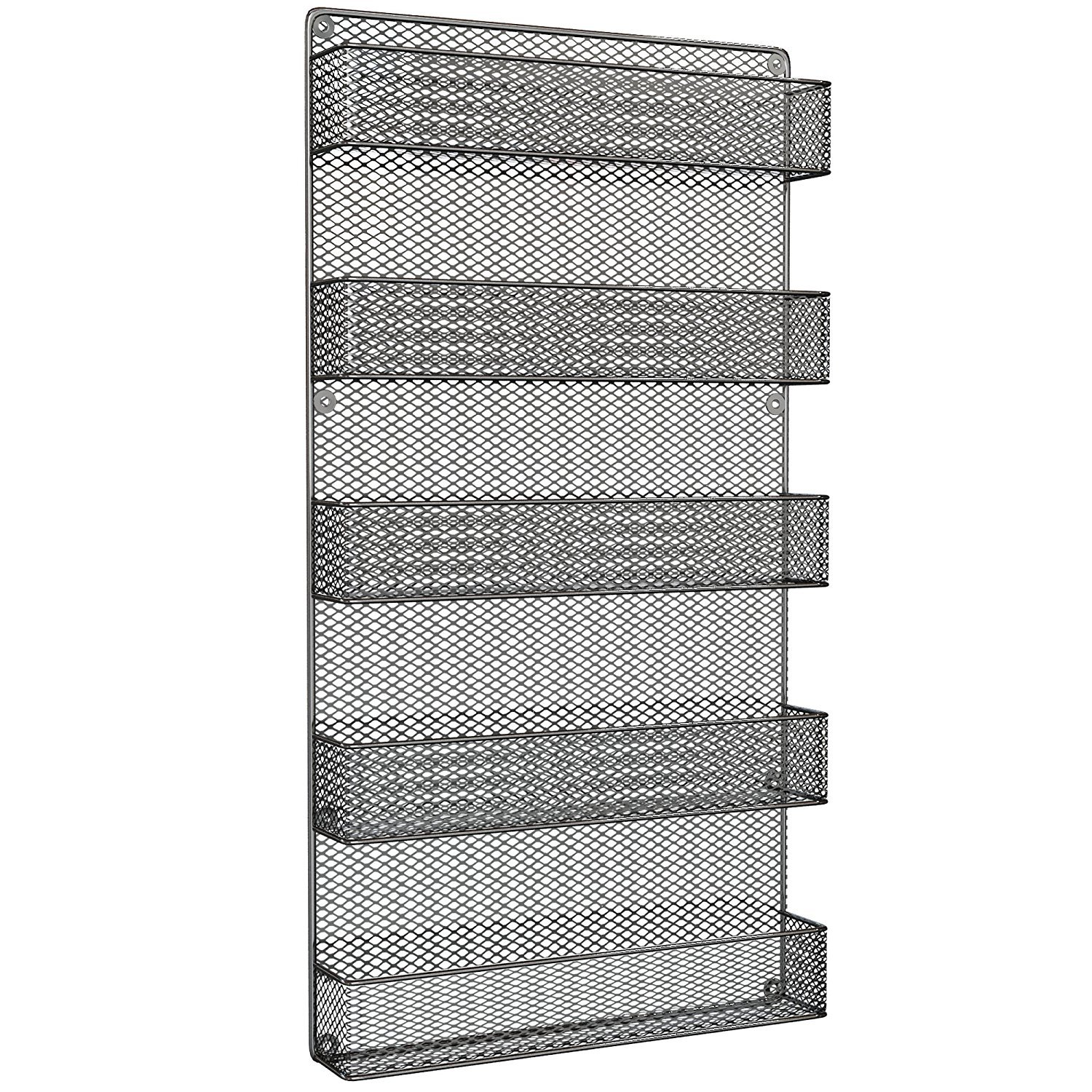 Amazon.com: Spice Rack Organizer - Country Rustic Wire Style - Great ...