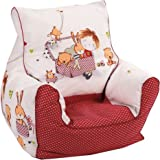 Knorr-baby 450166 - Sillón blando infantil, color rojo