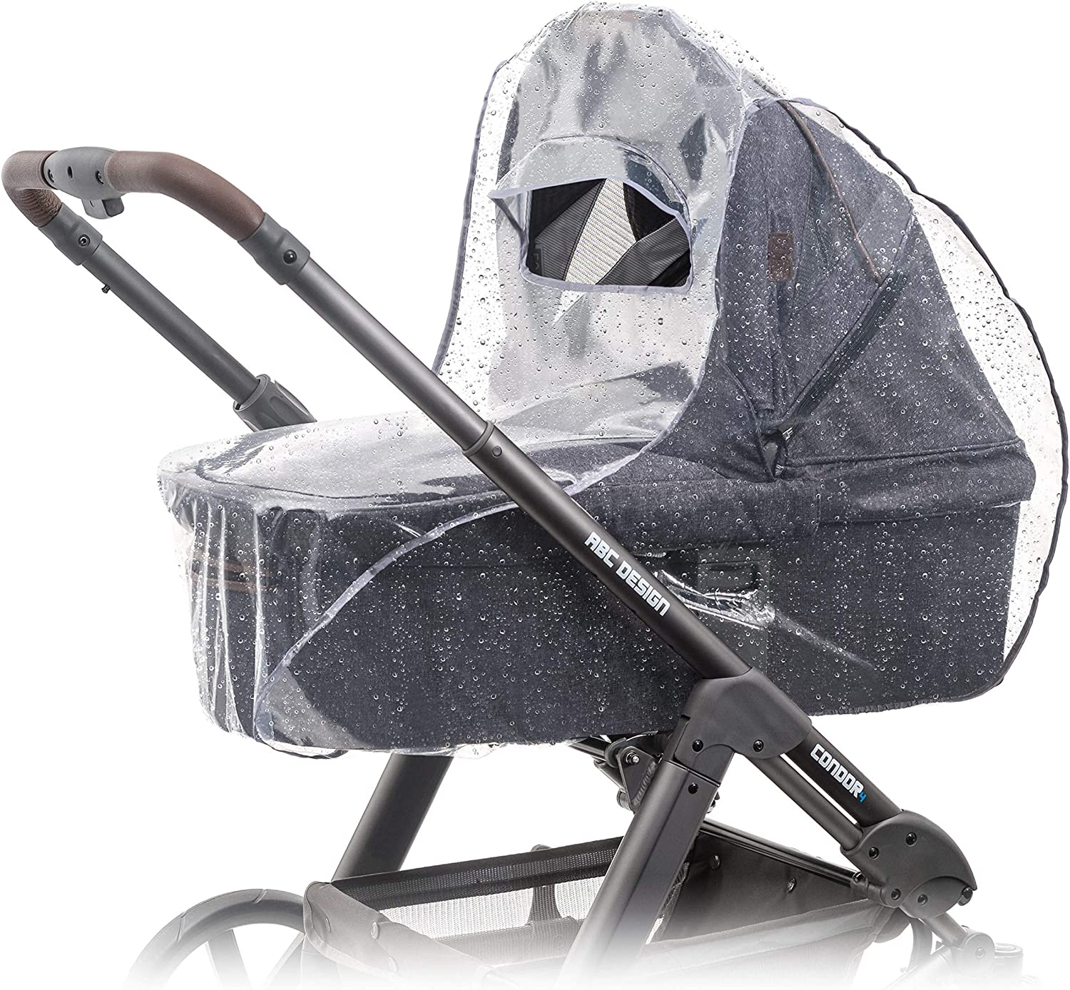 New RAINCOVER Zipped to fit Mothercare Journey Carrycot /& Seat unit Pushchair