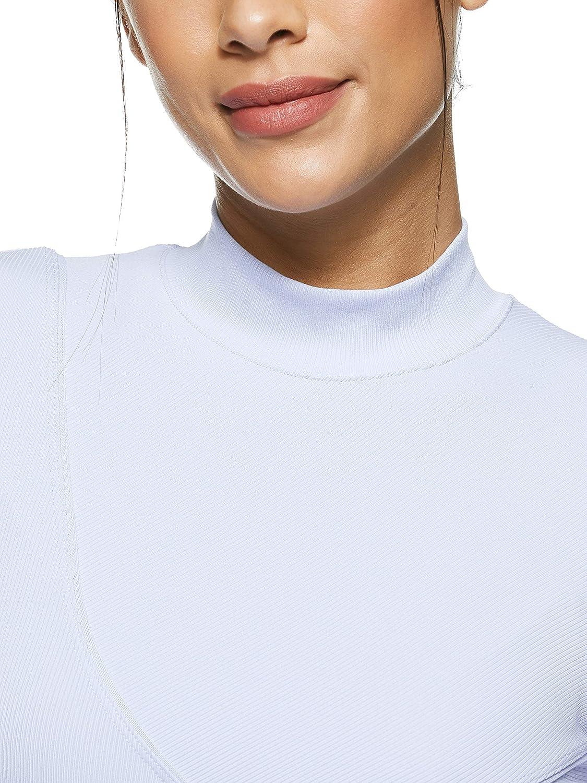 Camiseta de Manga Larga Mujer NIKE W NP Hprcl Rib LS Top