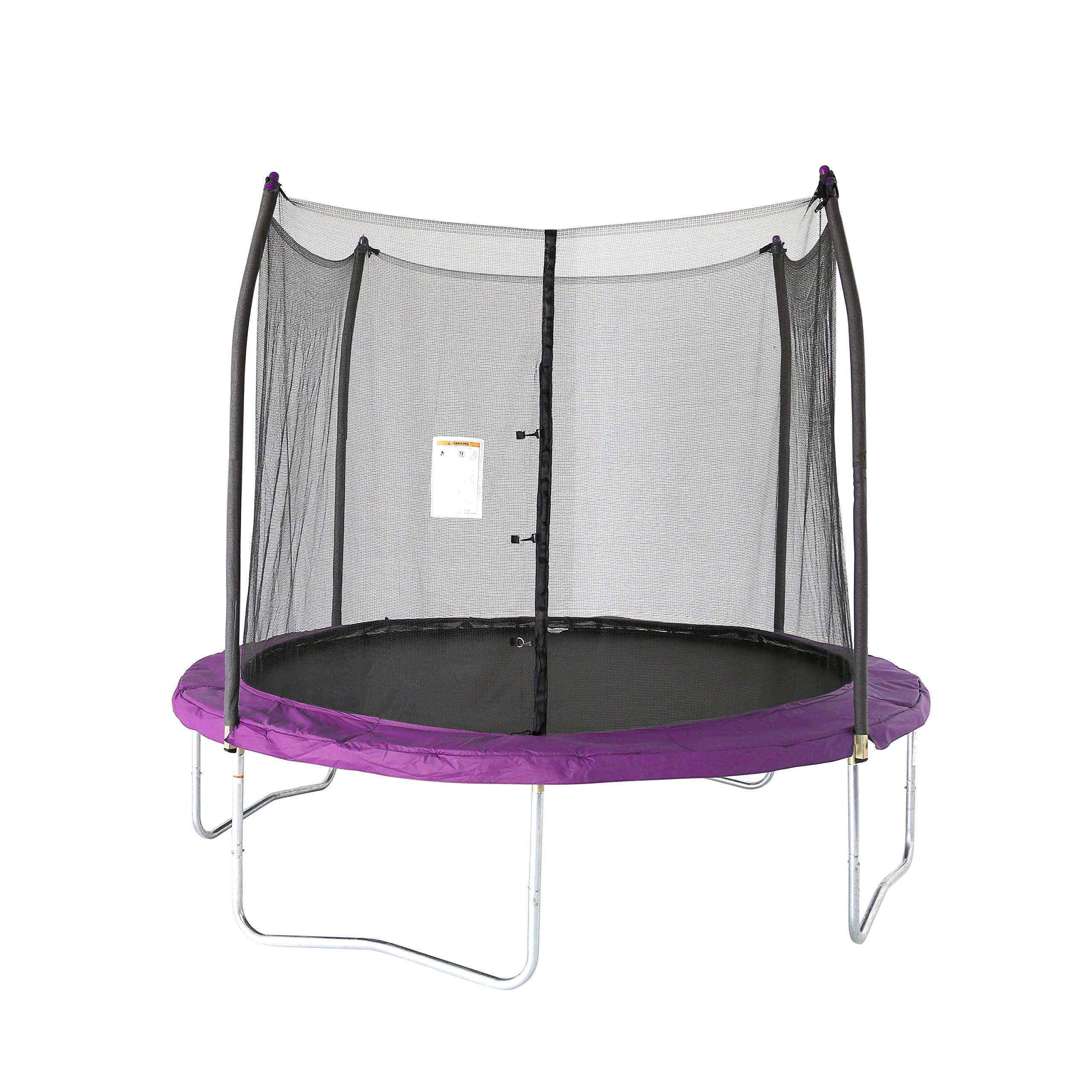 Skywalker Trampolines 10 -Foot Round Trampoline and Enclosure with spring, Purple
