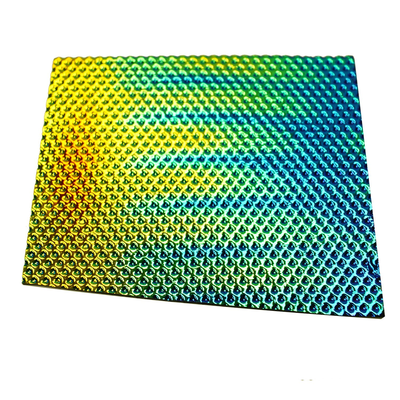 1 Lb DichroMagic Tie Dye Scrap On Wissmach Thin Black Textures - 90 COE by Wissmach (Image #4)