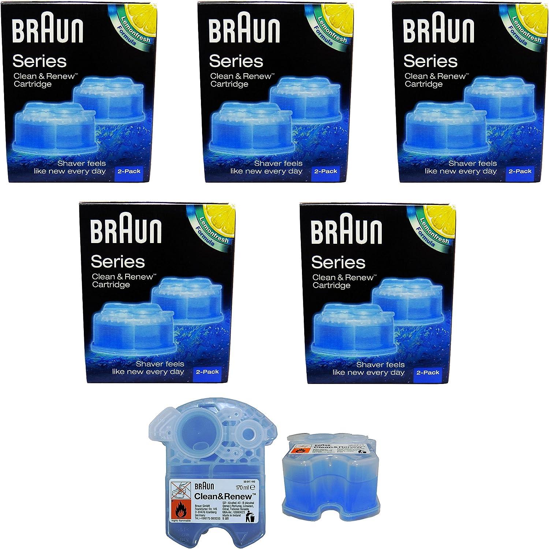 5 Pack Braun Clean & Renew CCR 2 – 2 x 170 ml...: Amazon.es: Hogar