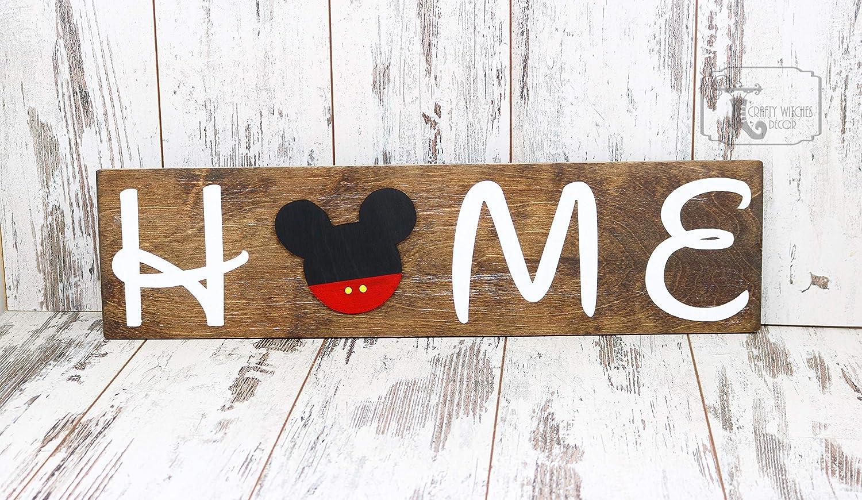 Disney home sign disney home sign disney decor disney gifts disney birthday gift disney wall decor disney castle disney lovers gift