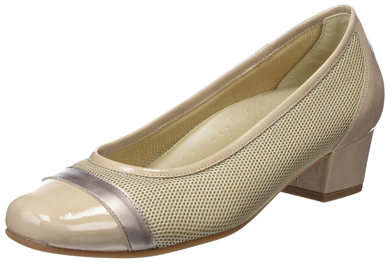 TALLA 38 EU. Dr. Cutillas 81141, Zapatos de tacón con Punta Cerrada para Mujer