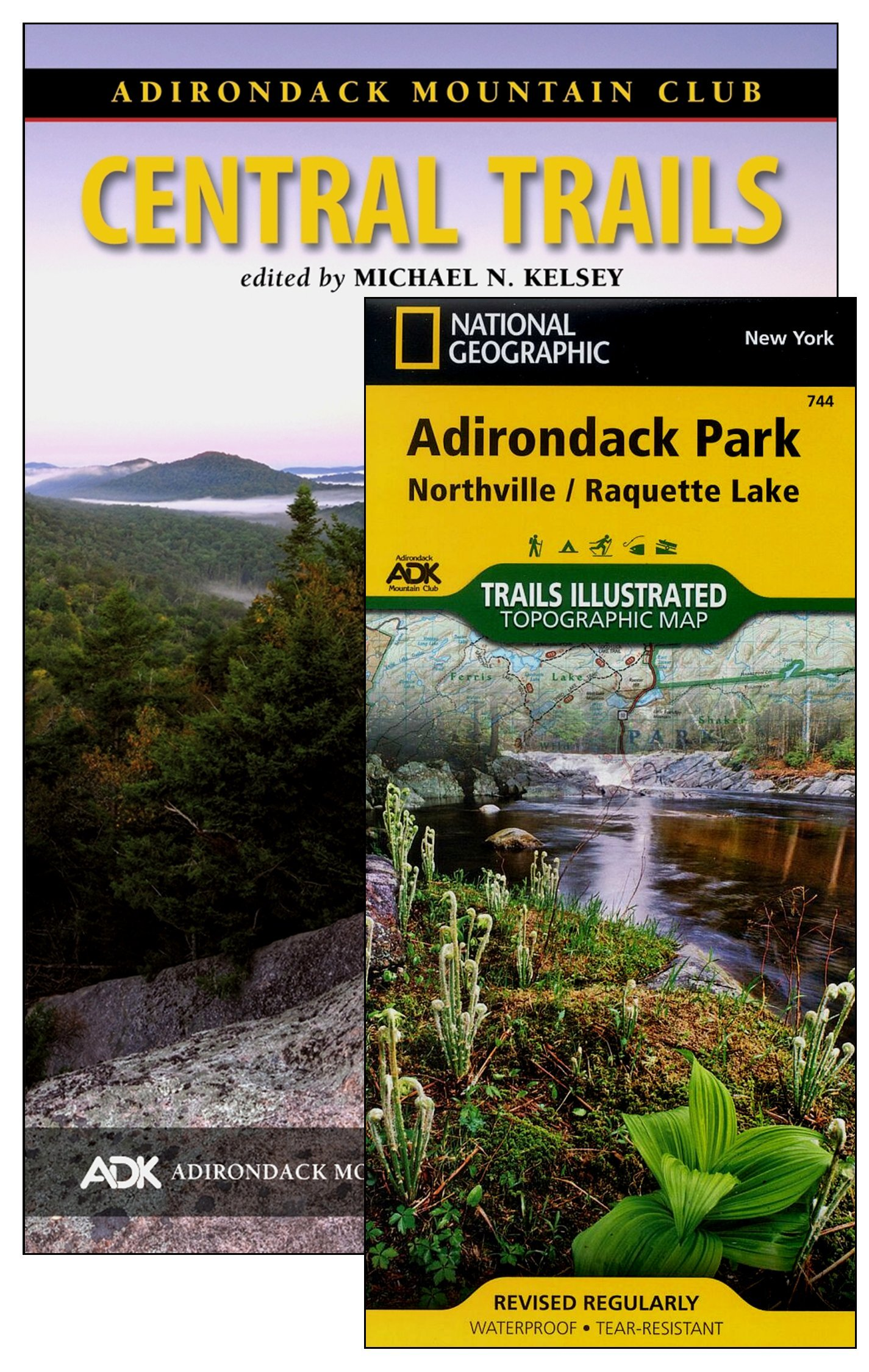 Central Trails Map Pack ebook