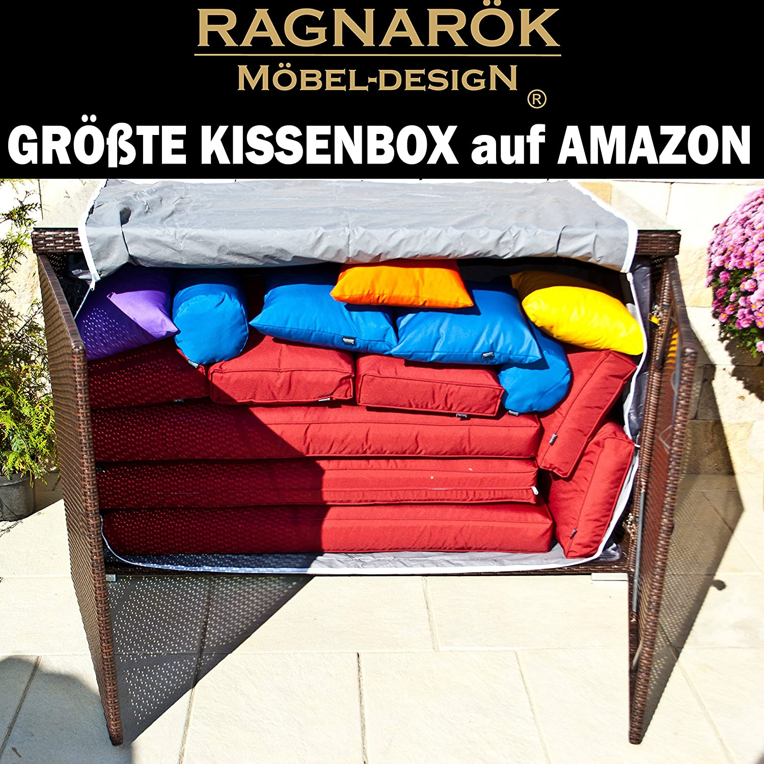 xxxl polyrattan kissenbox gr te kissenbox auf amazon deutsche marke eignene produktion 7. Black Bedroom Furniture Sets. Home Design Ideas