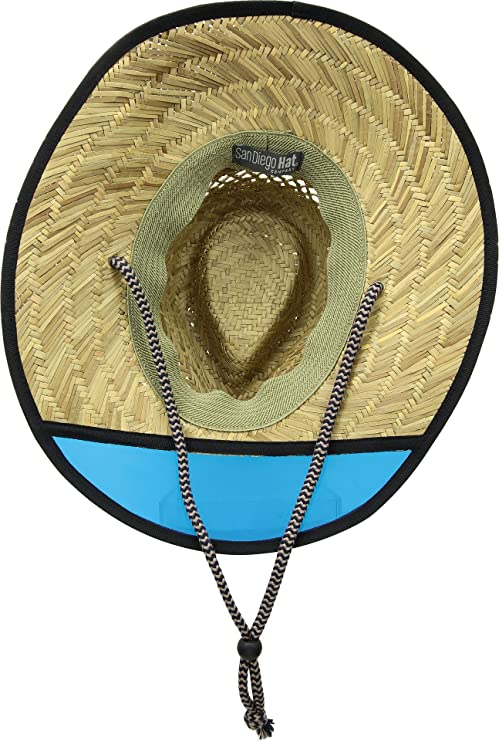 864377f00ba47 Men s San Diego Hat Company Lifeguard Safari Hat with Plastic Visor RSM585   Amazon.in  Clothing   Accessories