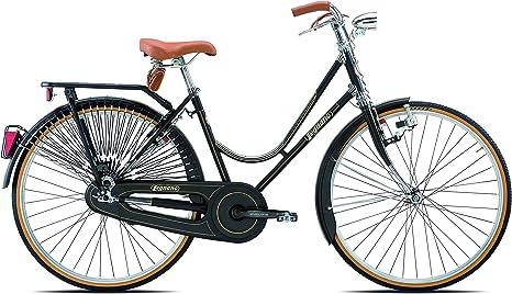 Legnano Ciclo 101 Urban, Bicicleta Vintage Mujer, Negro, 44 ...