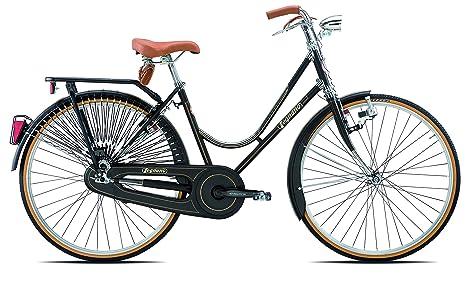 Legnano Ciclo 101 Urban Bicicletta Vintage Donna Nero 44