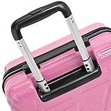 AmazonBasics Pyramid Hardside Carry-On Luggage