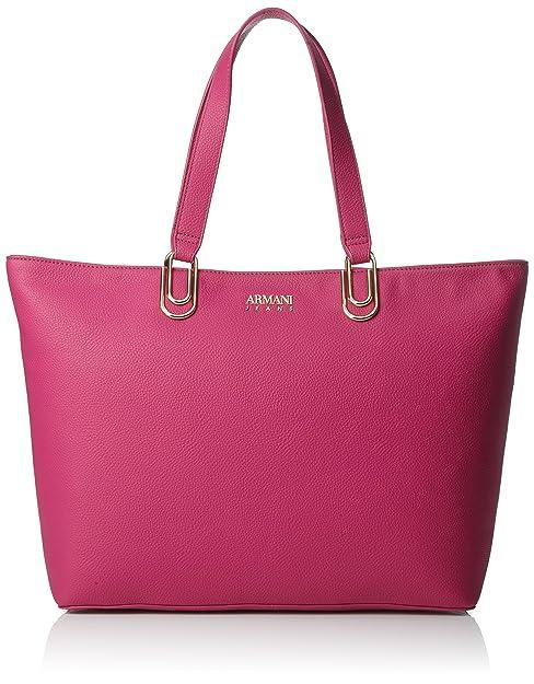 Borsa fuchsia Shopping Armani Donna Pink Borse Jeans Tote 6xaTqwA41f