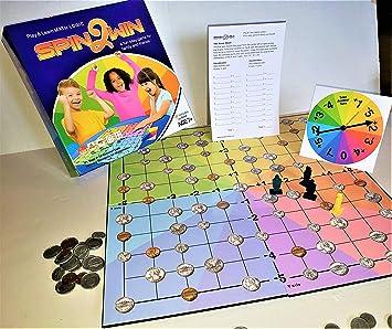 Spin2Win: Un Juego de Azar Dinero y matemáticas: Amazon.es: Juguetes y juegos