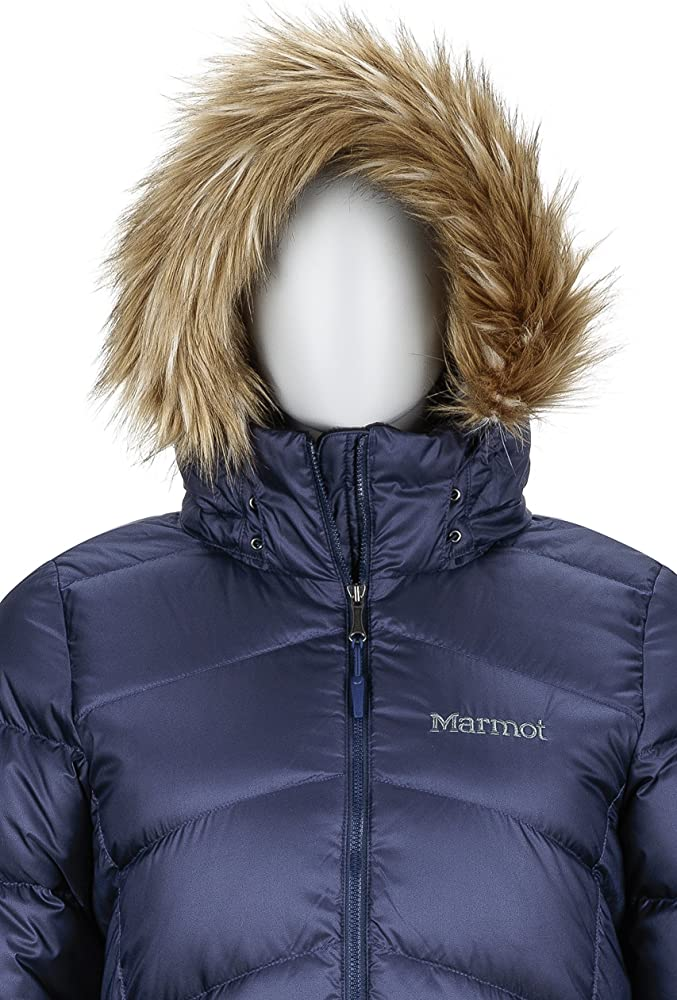 Midnight Navy Mujer Marmot Wms Montreal Coat Chaqueta De Plumas Aislante Ligera 700 Pulgadas C/úbicas Abrigo para Exteriores M Anorak Resistente Al Agua Resistente Al Viento