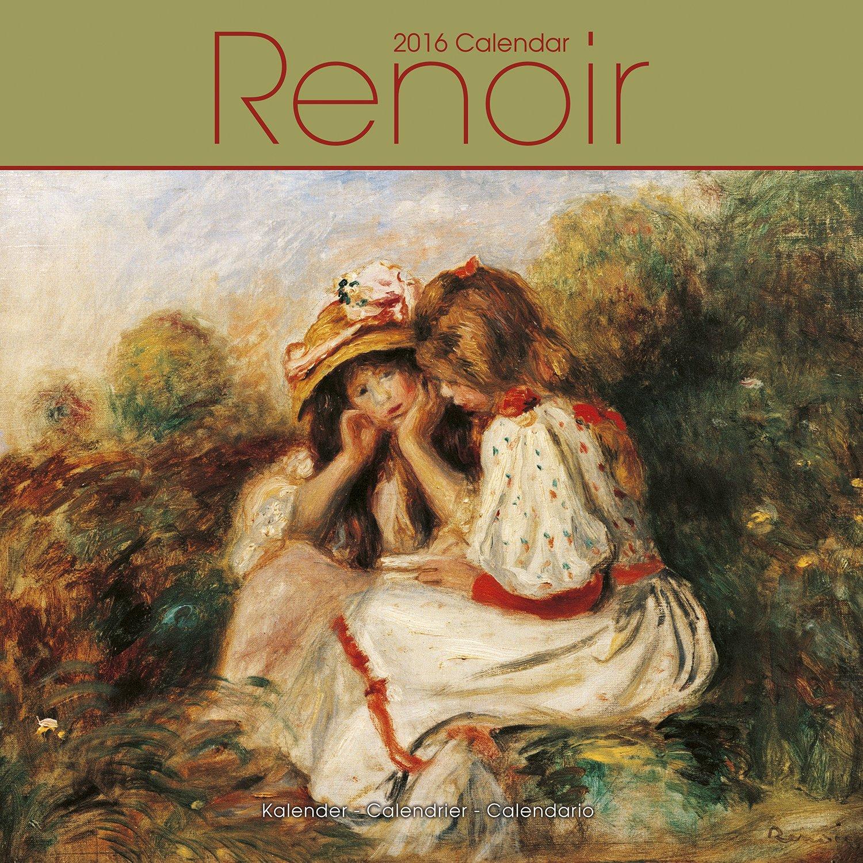 Download Renoir Calendar - 2016 Wall calendars - Art Calendar - Monthly Wall Calendar by Avonside pdf