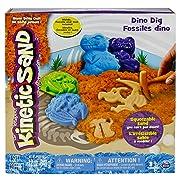 Kinetic Sand Dino Dig Playset (Amazon Exclusive)