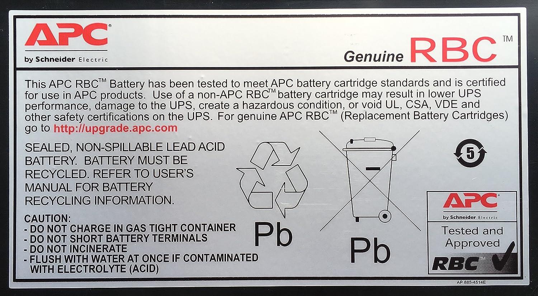 APC UPS Replacement Battery Black