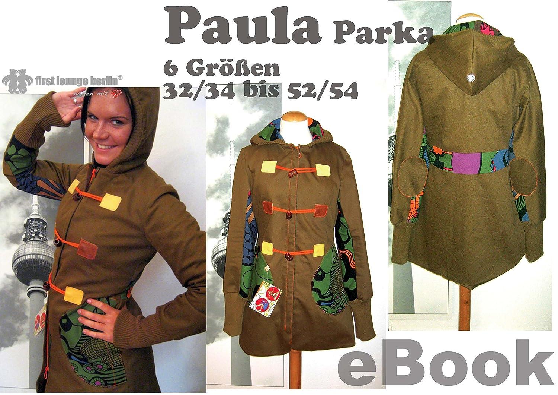 Paula Nähanleitung mit Schnittmuster auf CD für Parka bzw. Kapuzen ...