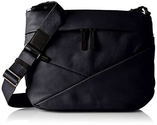 59b61120c4 Mandarina Duck Wave Tracolla, Women's Shoulder Bag, Black, 9x24x33 cm (B x