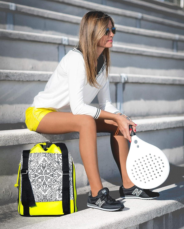 Idawen - Mochila de padel | Tenis o Padel, tu eliges la raqueta ...