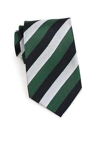 53d9a880dfb4 Bows-N-Ties Men's Necktie British Regimental Striped Silk 3.25