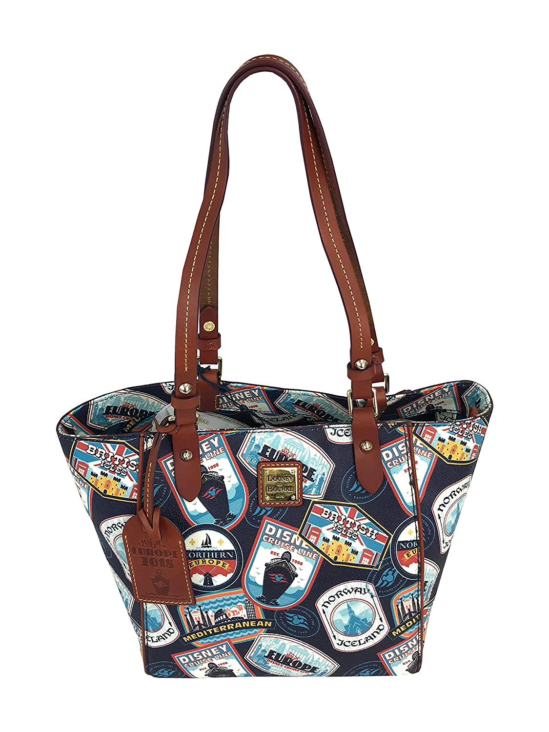 Amazon.com: Dooney and Bourke Disney Cruise Line DCL Itinerary Janie Tote  Bag Purse: Shoes